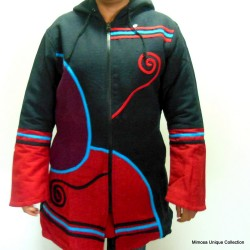 Women's Hippie Cotton Hood Jacket
