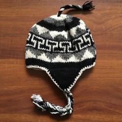 Mens Hand Knitted Beanie Hat