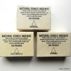 Natural Cone Incense Air Freshener
