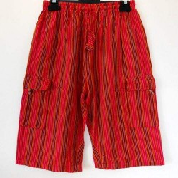 Casual Summer Cool Light Cotton Red Shorts