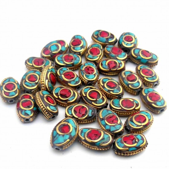 Turquoise Coral Jewellery Beads BD-155