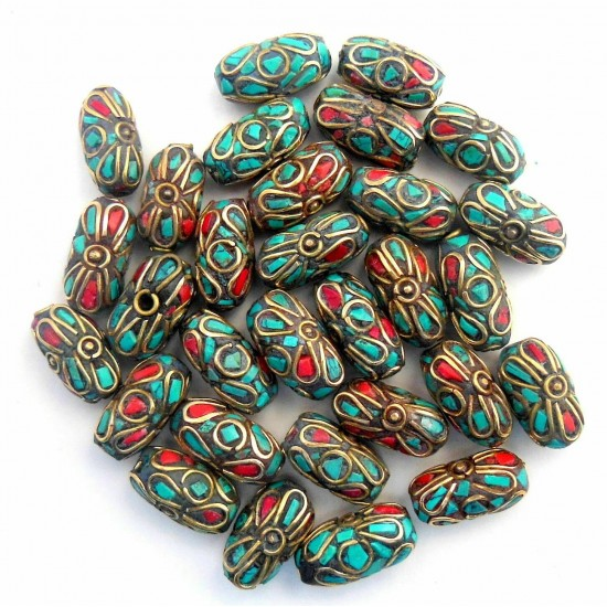 Turquoise Coral Jewellery Beads BD-160