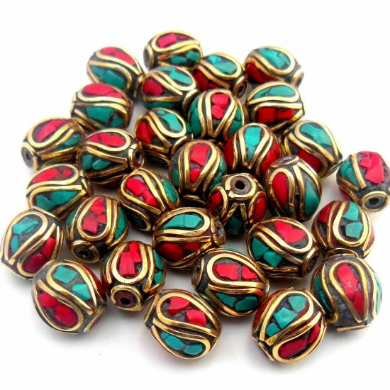 Turquoise Coral Jewellery Beads BD-173