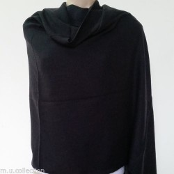 Black Color 100% Pashmina Shawl