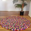 Nursery Felt Ball Rugs