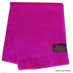 Dark Pink Warm Pashmina Shawl by Mimosa Crafts