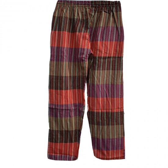 Multi-colour Stripe Light Cotton Trouser