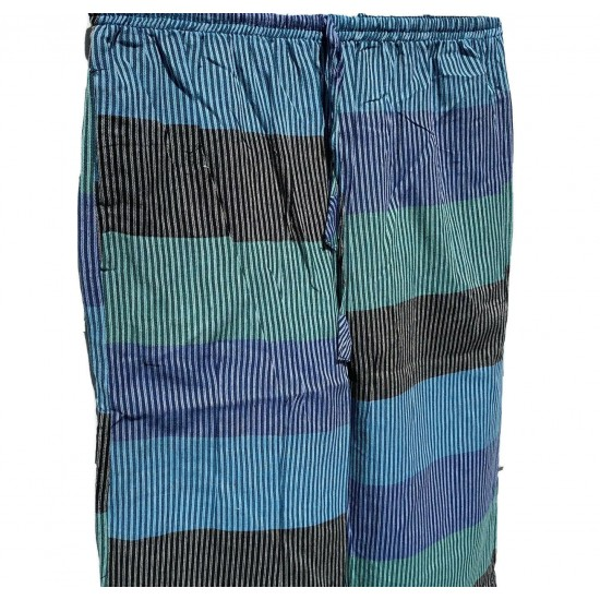 Multi-striped Light Cotton Trouser