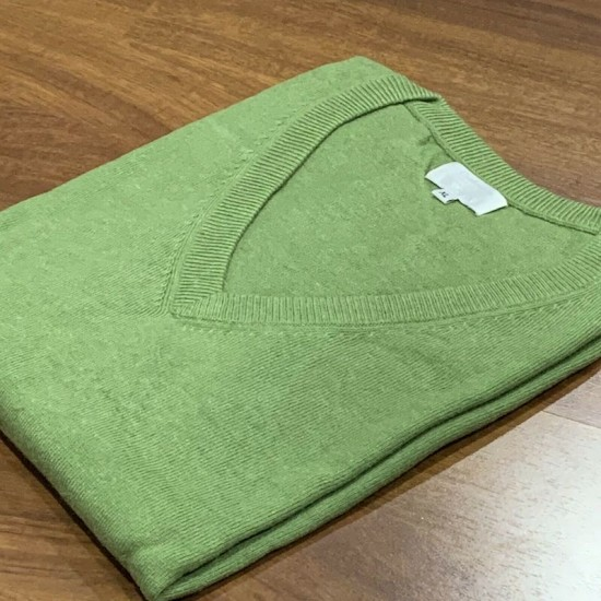 Women's Olive Green Cashmere Jumper