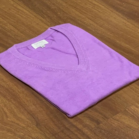 Women's Violet Colour Cashmere Jumper