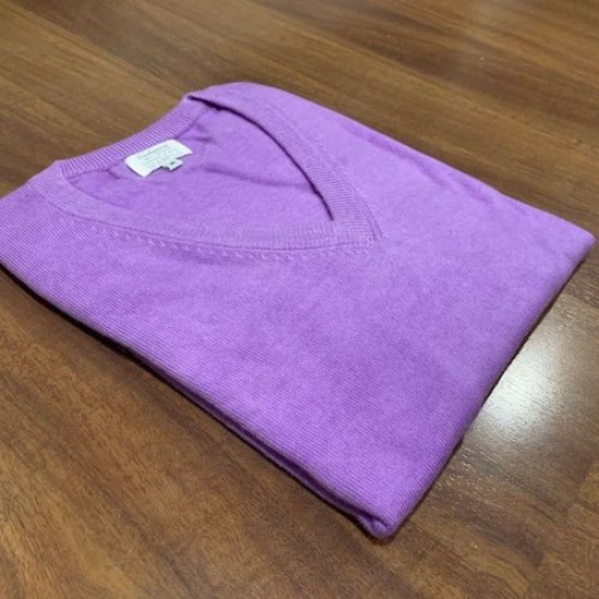 Women's Purple Cashmere  Jumper