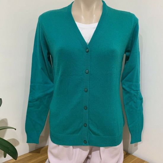 Women's Cashmere V-neck Cardigan Sweater